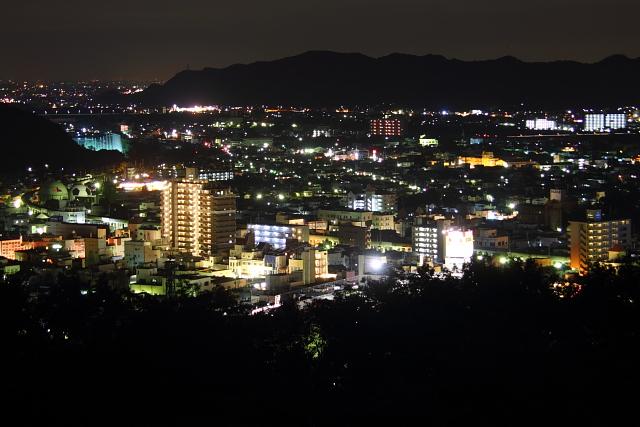 群馬県桐生市の夜景: 旅行記とか